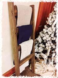Wooden (5ft) Blanket Ladder $60