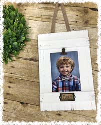 Wood Picture Frame $35(1 Photo) $42(2 Photos) $48(3 Photos)