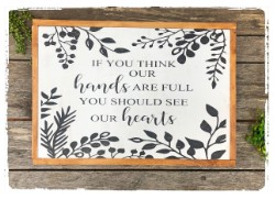 Full Hearts Sign $60