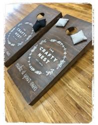 Personalized Cornhole Set $225