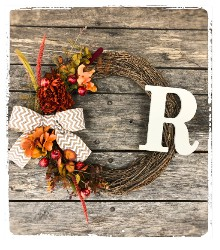 Fall Wreath (2019) $45