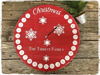 Large Round Countdown- $55.00
