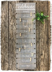 Perpetual Birthday Sign $45.00
