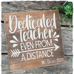 Teacher Quote Sign $35.00