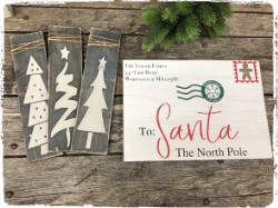 Letters to Santa and Painted Trees $50.00