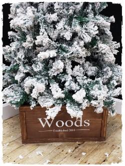 Christmas Tree Collar WITH Trim- $75.00