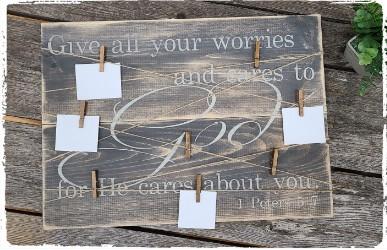 Prayer Board $60.00