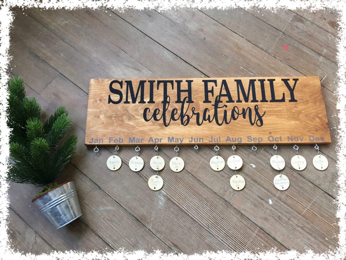 Family Celebrations