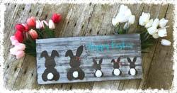 """Bunny Family 11.25""""x16"""" $42.00"""