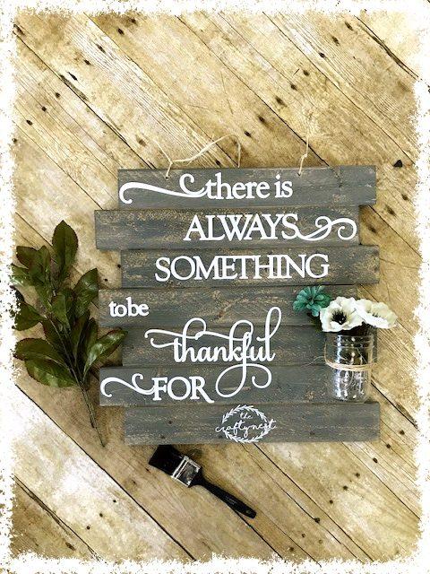 Always Something Thankful