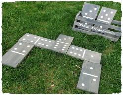Yard Dominoes with Box $60.00
